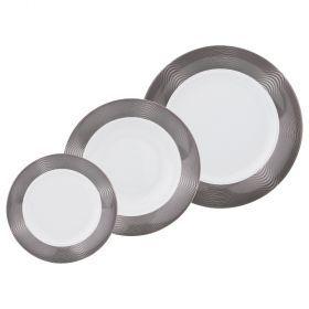 Набор тарелок из 18 шт.: 23/26/19 см.