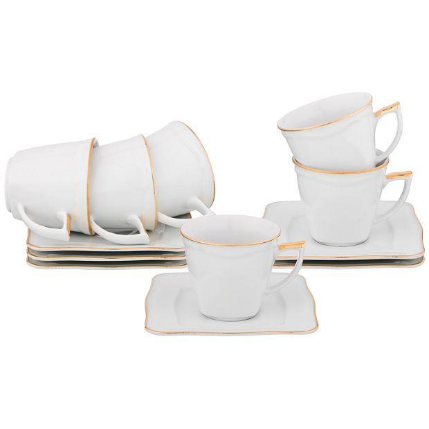 "Чайный набор  ""arno"" на 6 персон 12 пр. 230 мл.-662-728"