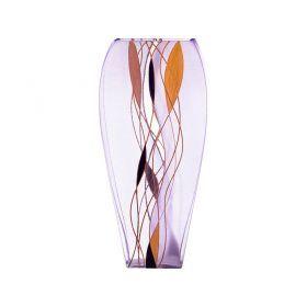 Ваза декоративная абстракция сиреневая высота=30 см-135-5004
