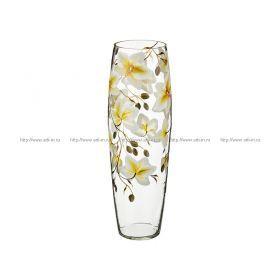 Ваза орхидея салатовая коне диаметр=13 см. высота=50 см.