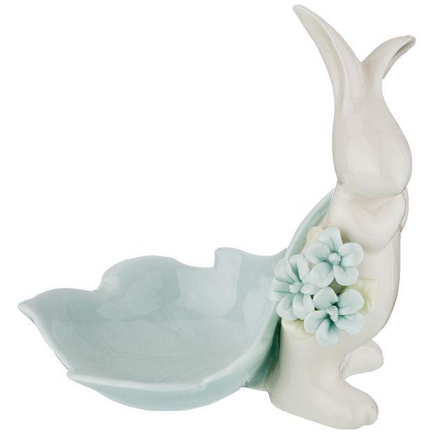 "Статуэтка ""весенний кролик"" 12*8*13 см. (кор=18шт.)-150-142"