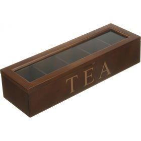 Шкатулка для чая 38*12*8 см  (кор=20шт.)-255-044