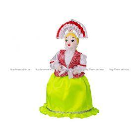 Кукла-грелка на чайник ручной работы любава высота=53 см. без упаковки