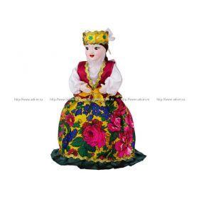 Кукла-грелка на чайник ручной работы аскольда высота=45 см. без упаковки