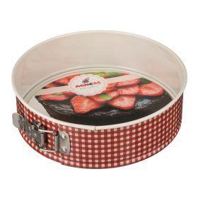 Форма для выпечки разъемная 24*6,8 см с антипригарным покрытием