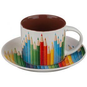 Чайный набор на 1 персону 2 пр. 200 мл.