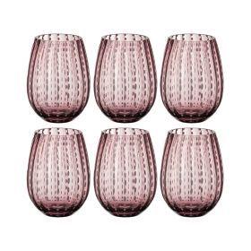 Набор бокалов для виски из 6 шт.высота=12 см.550 мл.