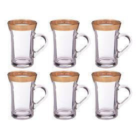 Набор стаканов из 6 шт.200 мл.высота=12 см.