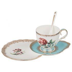 """Чайный набор """"амелия"""" на 1 персону 2 пр. 250 мл."""