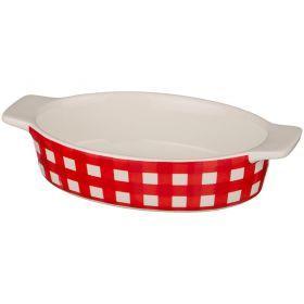 Блюдо для запекания 22*13 см. высота=5 см.